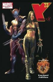X-23 The Target #1 Mike Choi Top Cow On-Line Wolverine Variant Marvel comic book